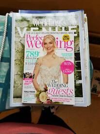 7-8 wedding magazines
