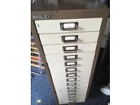 Bisley draw type filing cabinet