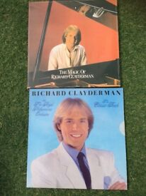 2 x Richard Clayderman Vinyl Records, LPs Albums