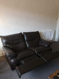 2+1 very comfy recliner sofas