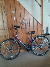 Ladies vintage style bicycle