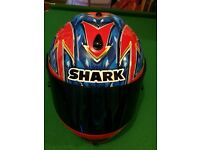 Large mans motorbike helmet