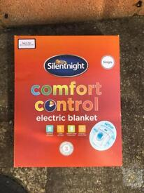 Single bed electric blanket