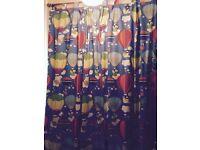 Beautiful handmade nursery curtains