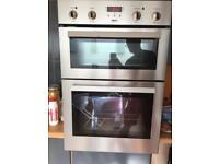 Zanussi double oven