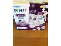 Avent breast pump with breastfeeding support kit - BRAND NEW