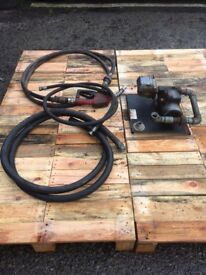 Diesel delivery fuel pump electric