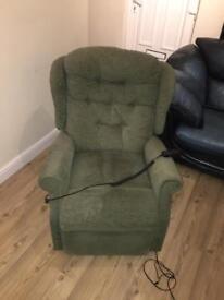 Reclining armchair chair