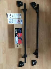 Thule roof bars and 751 foot pack