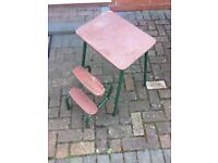 Small chair steps