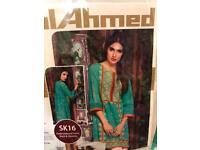 Embroided khaddar three piece suits and Gul Ahmad shirts
