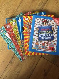 Where's Wally ? books set