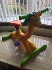 V Tech ride on giraffe- excellent condition in full working order