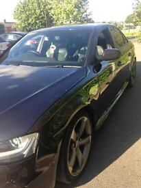 Audi A4 2.0 tdi black edition fully loaded 5 door in superb condition