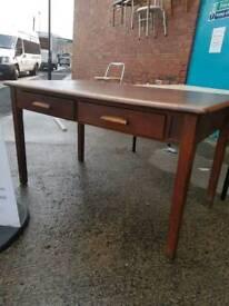 Vintage hardwood desk