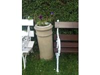 Victorian chimney pot tall planter