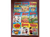 Beano Annuals 1981-1989