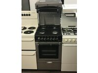 50CM SILVER/BLACK EYE LEVEL GAS COOKER
