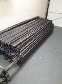 New Steel box section 40mm x 40mm 3mm thick 2.4m lengths