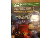 Minecraft Storymode game for Xbox 1