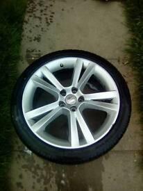 Seat vw audi wheels