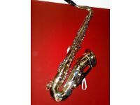 1960,s Arta Guban Vintage Romanian JAZZ Tenor Saxophone & ACCSESSORYS
