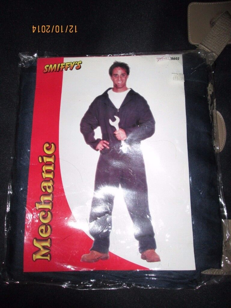 MENS MECHANIC DANNY FROM GREASE OUTFIT SIZE M GREAT FOR A PARTY