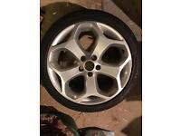 "Genuine Ford Focus ST 225 18"" Alloy wheel & tyre"