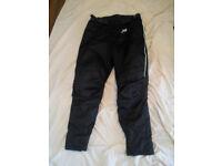 bikers waterproof trousers