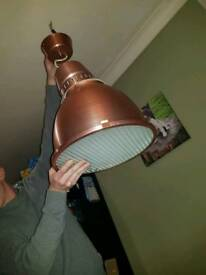 Copper style warehouse light (rare)