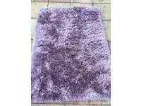 Fluffy rug good condition