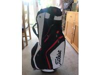 Titleist brand new. 14 way divider lightweight cart bag