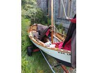 Shetland Skiff sailing dinghy