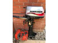 Mariner 6hp outboard engine 4 stroke