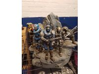 Halo Reach Collectable Figures Xbox