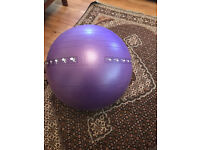 Gallant Gym Ball 75cm Non Burst - Purple
