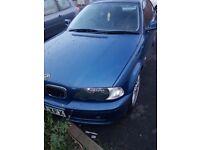 BMW coupe 2000 plate clean car mot