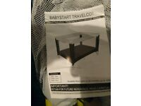 Baby Travel Cot 0 to 24 Months Hardly used