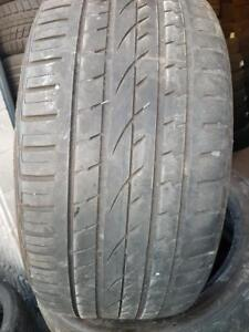 4 PNEUS ETE - CONTINENTAL 295 40 21 - 4 SUMMER TIRES