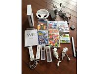 Wii bundle with 15 games