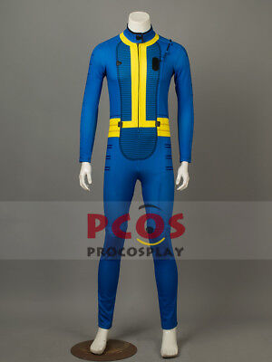 Sale Price&Ready Ship~ Vault 111 Sole Survivor jumpsuit Cosplay Costume mp003734](Vault Jumpsuit Costume)