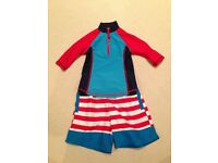 John Lewis boy's swim suit set age 3 years