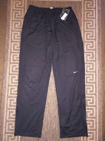 Nike Dri-Fit Men Training Trousers Pants Black Size S