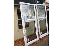 2x uPVC TRIPLE glazed windows for sale