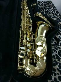 Alto saxophone trevor James classic