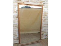 Rose Gold Mirror Crafted Beautiful frame (Delivery)