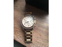Rose Gold Michael Kors ladies watch
