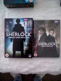 Sherlock Seasons 1, 2 and 3 complete