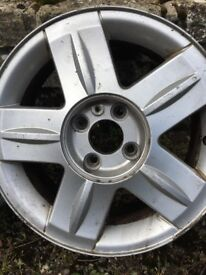 2 x Renault Clio alloy wheels
