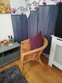 IKEA Wicker Chair.